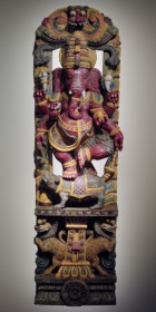 Carved Ganesha Figure